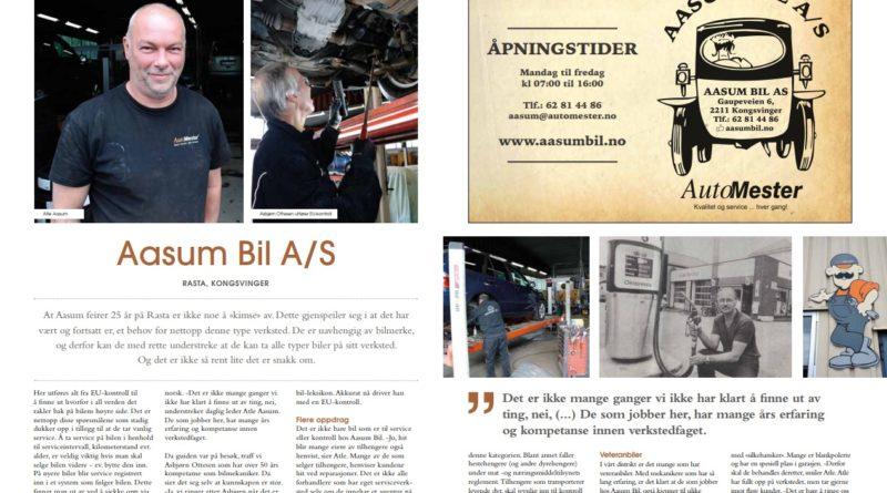 Aasum Bil feirer 25 år på Rasta